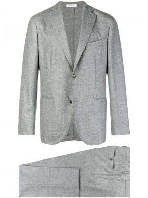 Single breasted suit Boglioli. Цвет: серый