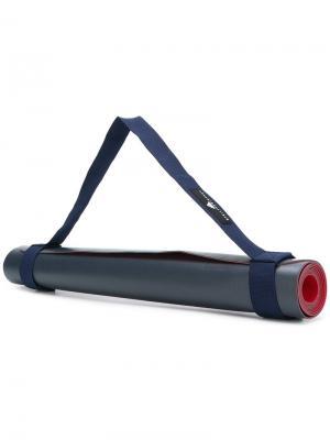Тренировочный коврик с логотипом Adidas By Stella Mccartney. Цвет: синий