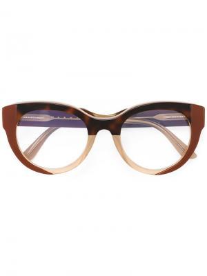 Очки ME2604 Marni Eyewear. Цвет: нейтральные цвета