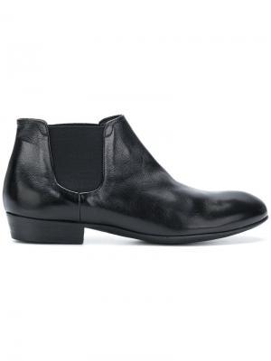 Ботинки-челси длиной по щиколотку Pantanetti. Цвет: черный