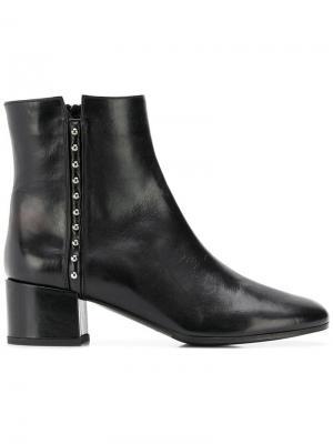 Studded ankle boots Vittorio Virgili. Цвет: черный