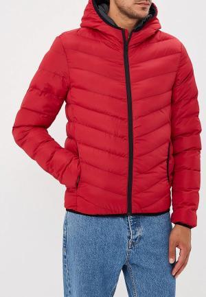 Куртка утепленная Brave Soul. Цвет: красный