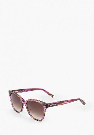 Очки солнцезащитные Missoni. Цвет: разноцветный
