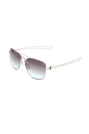 Очки солнцезащитные MOMODESIGN. Цвет: 04 серебристый