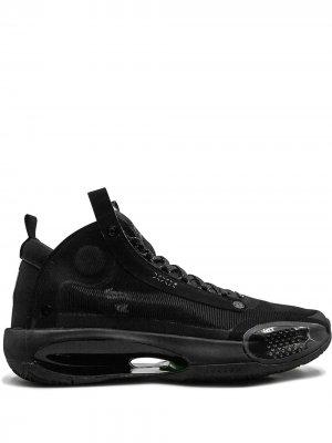 Кроссовки Air  XXXIV PE Jordan. Цвет: черный