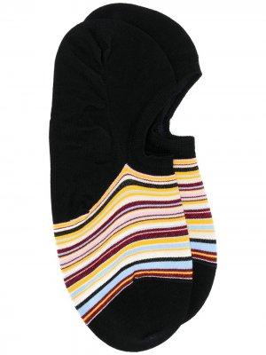 Носки в полоску PAUL SMITH. Цвет: черный