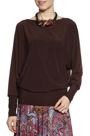 Блуза Alina Assi. Цвет: коричневый