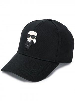 Бейсболка Karlito Karl Lagerfeld. Цвет: черный