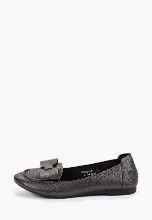 Туфли Betsy. Цвет: серый