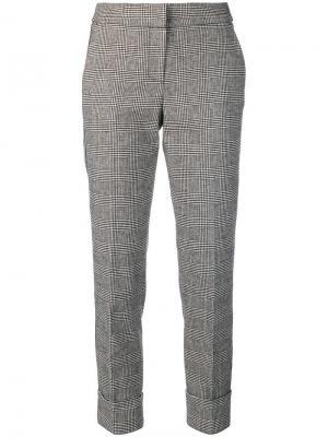 Check skinny trousers Ki6. Цвет: черный