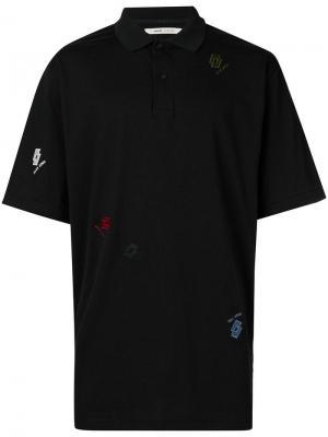 Рубашка-поло Teuvo Damir Doma. Цвет: черный