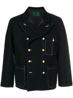 Двубортная куртка Jean Paul Gaultier Vintage. Цвет: черный