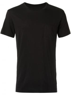 Базовая футболка Osklen. Цвет: черный
