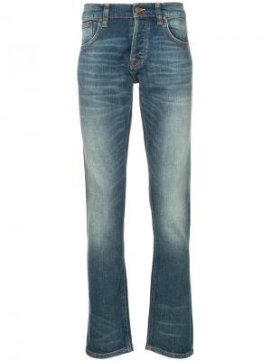 Джинсы облегающие Nudie Jeans Co. Цвет: синий
