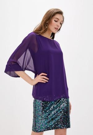 Блуза Wallis. Цвет: фиолетовый