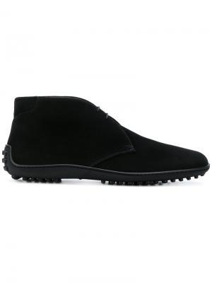 Ботинки дезерты Car Shoe. Цвет: черный