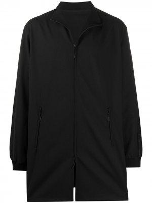 Спортивная куртка оверсайз Y-3. Цвет: черный