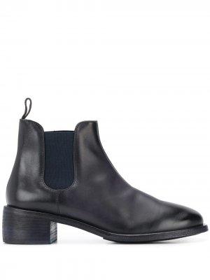 Ботинки-слипоны Marsèll. Цвет: синий