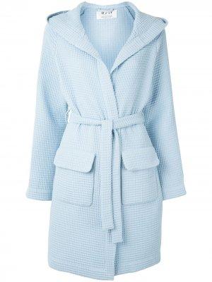 Пальто-халат Wednesday 0711. Цвет: синий