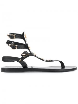 Сандалии Valentina Ancient Greek Sandals. Цвет: черный