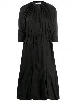 BUBBLE HEM SHIRT DRESS JW Anderson. Цвет: черный