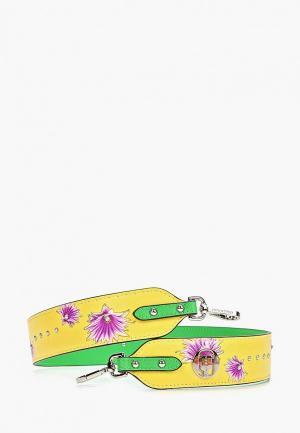 Ремень для сумки Cromia. Цвет: желтый