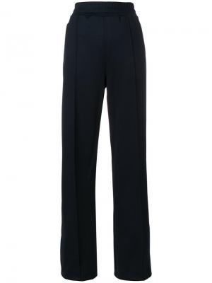 Спортивные брюки с пуговицами By Malene Birger. Цвет: синий