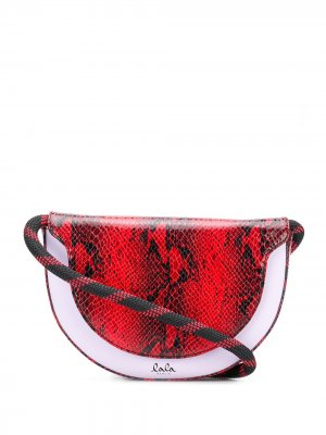 Полукруглая сумка через плечо Aileen Lala Berlin. Цвет: красный