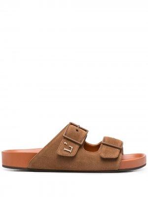 LAutre Chose сандалии с логотипом L'Autre. Цвет: коричневый