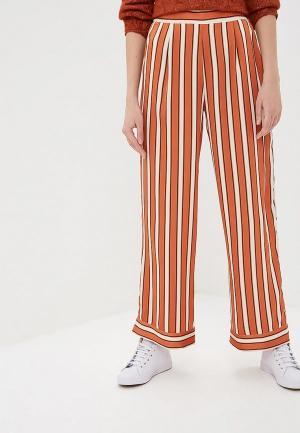 Брюки Naf. Цвет: оранжевый