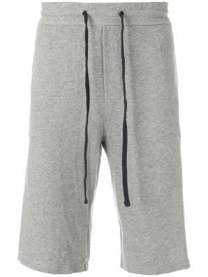 Классические спортивные шорты James Perse. Цвет: серый