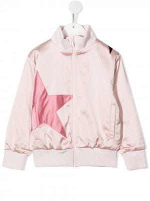 Куртка-бомбер с нашивкой Molo. Цвет: розовый