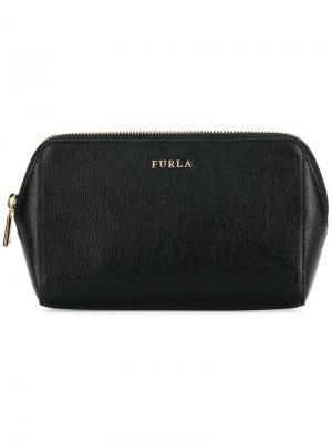 Electra cosmetic case trio Furla. Цвет: черный