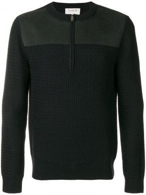 Contrasting panel sweater A.P.C.. Цвет: синий