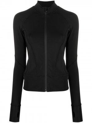 Сетчатая куртка Karl Lagerfeld. Цвет: черный