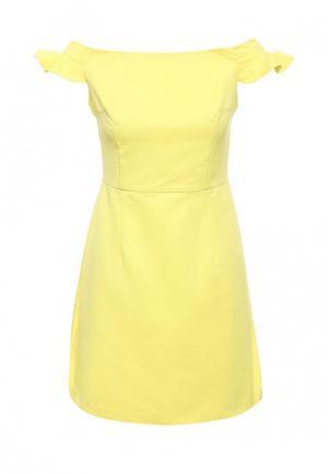 Платье Befree. Цвет: желтый