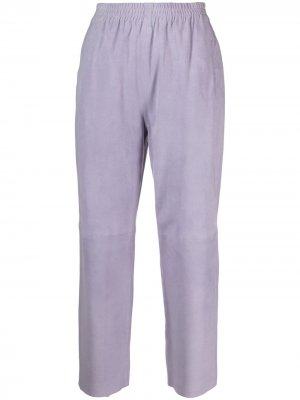 Укороченные брюки Pinko. Цвет: фиолетовый