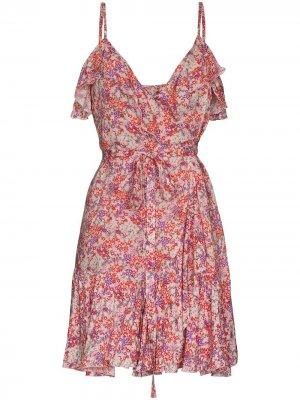 Платье Sammy с принтом Melissa Odabash. Цвет: розовый