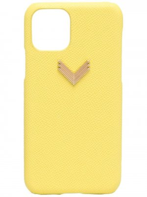 Чехол для iPhone 11 Pro из коллаборации с Velante Manokhi. Цвет: желтый