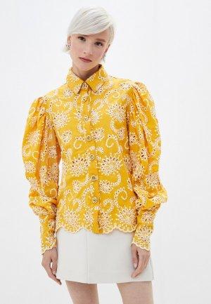 Блуза Sister Jane. Цвет: желтый