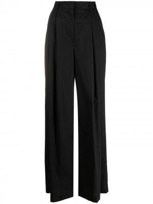 Широкие брюки с завышенной талией Nude. Цвет: черный