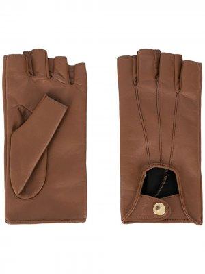 Перчатки Mano Manokhi. Цвет: коричневый
