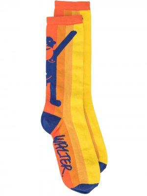Носки Walter с логотипом Van Beirendonck. Цвет: оранжевый