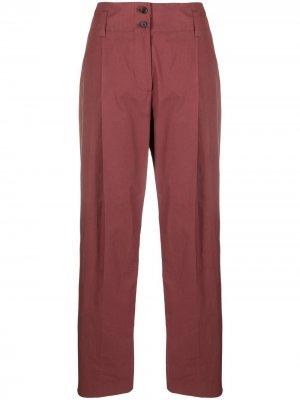 Прямые брюки PAUL SMITH. Цвет: красный