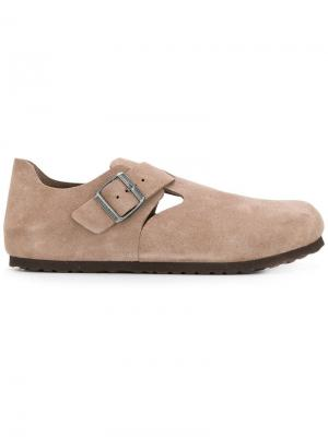 Buckled loafers Birkenstock. Цвет: нейтральные цвета