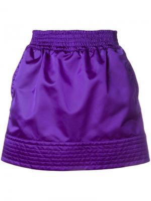 Спортивная юбка с отблеском Nº21. Цвет: фиолетовый