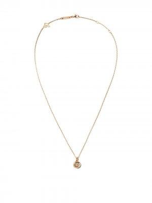 18kt rose gold Happy Diamonds Icons pendant Chopard. Цвет: розовый