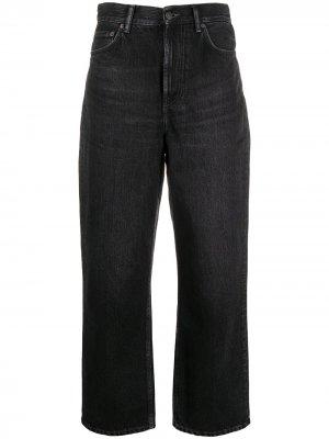 Зауженные джинсы 1993-го года с завышенной талией Acne Studios. Цвет: черный