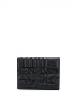 Складной бумажник Comme Des Garçons Wallet. Цвет: черный
