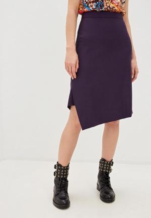 Юбка Vivienne Westwood. Цвет: фиолетовый